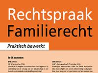 Verschenen publicaties in tijdschrift Rechtspraak Familierecht